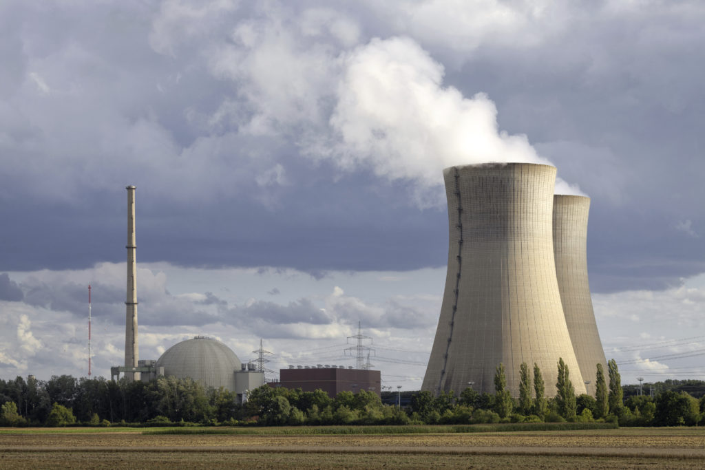 Two cooling towers that need a water treatment system