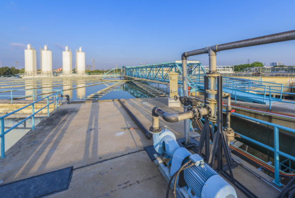 Chemical addition process in wastewater treatment system